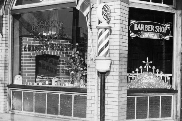 Video – Barbershoppen i 50erne