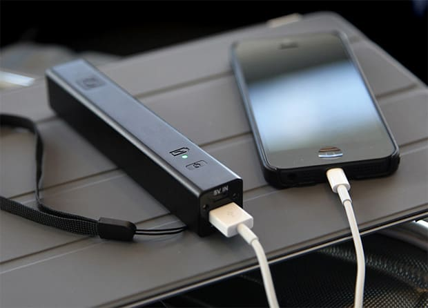 transportabel oplader til iphone