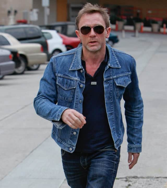 Daniel Craig Denim Jacket