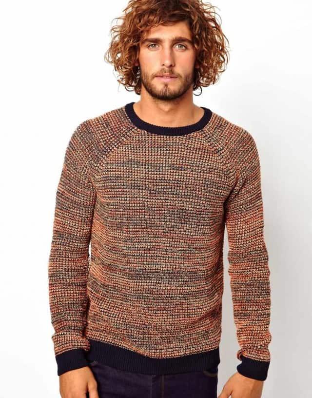 Årets første strikketrøje…