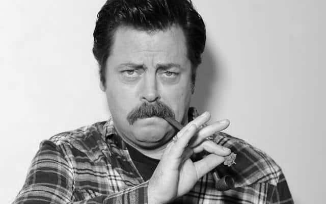 Movember – Nick Offerman gøgler igen i år