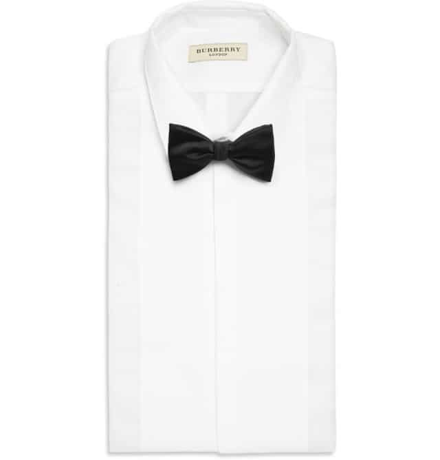 Silk double bow tie Brooks Brothers