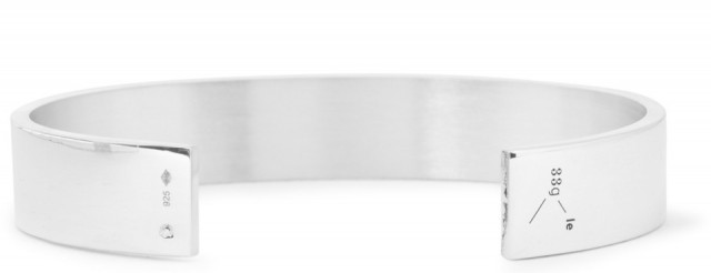 33g Polished Sterling Silver Cuff La Gramme