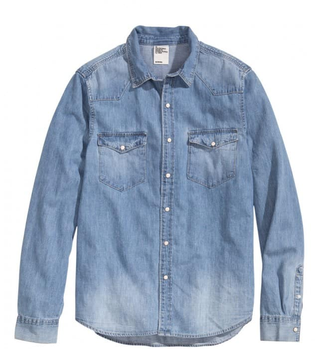 Denimskjorte H&M