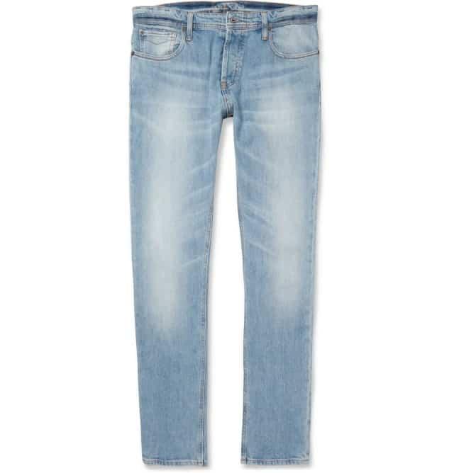 NN 07 Peter Slim-Fit Washed Denim Jeans