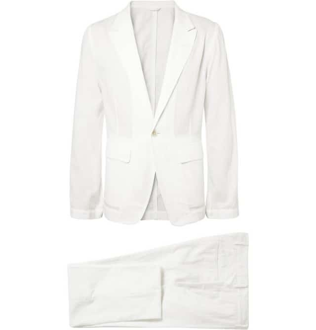 Unstructured Regular-Fit Woven-Cotton Suit Ann Demeulemeester