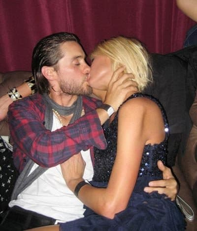 Jared Leto Paris Hilton Kiss