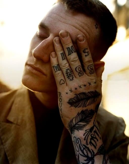 Amazing-Hand-Feather-Tattoos-for-Men
