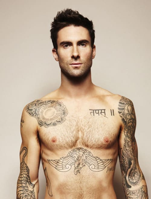 Cool-Tattoo-Man-Adam-Levine
