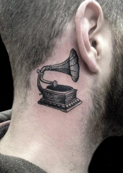 Tattoo-Behind-Ear-for-Men