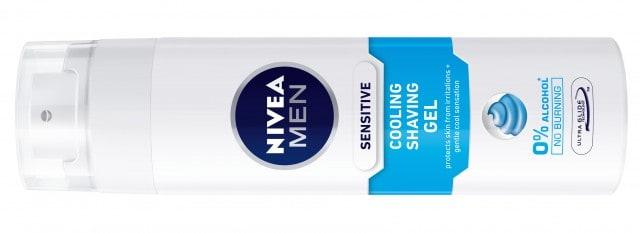 Undgå brændende fornemmelse efter barbering med Nivea Men Sensitive Cooling