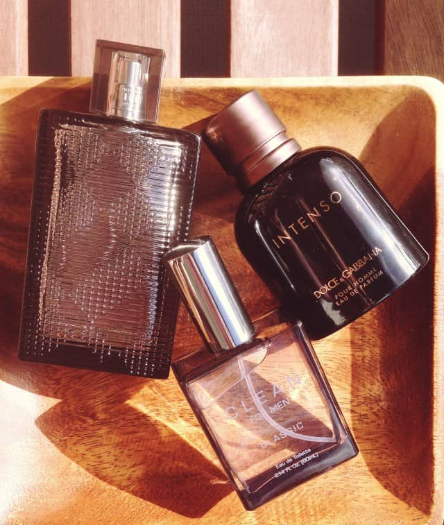 Dolce Gabbana Intenso Clean for Men Classic & Burberry Brit Rhythm