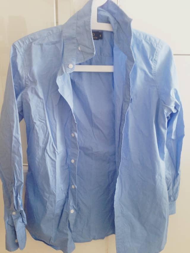 Et stk. krøllet test-skjorte