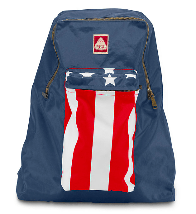 Jansport Stars and stripes, ca. 400 kr.