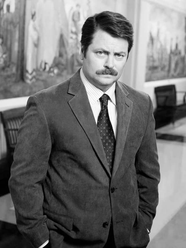 Nick Offerman Movember