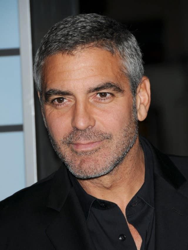 Trim skægget som George Clooney