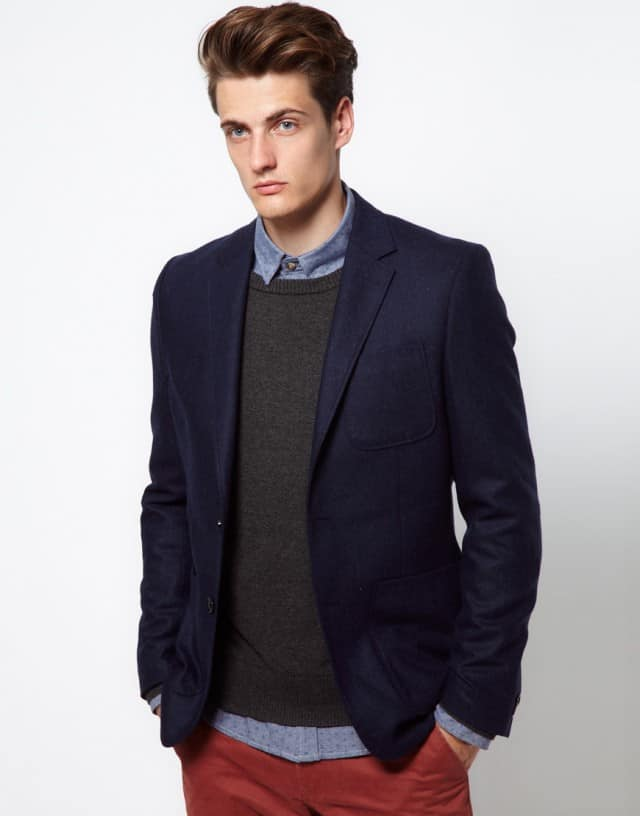 Navy Blazer Selected