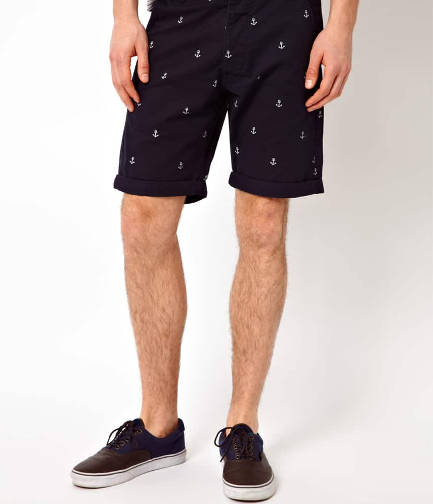 Shorts With Anchor Print Jack Jones  kr