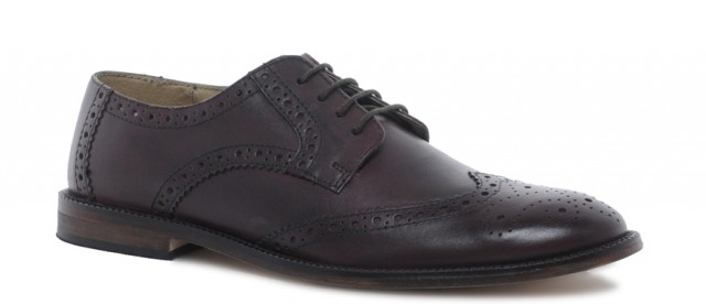 Brogues With Leather Sole Asos