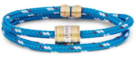 Woven-Cord And Metal Wrap Bracelet Miansai