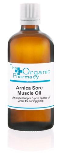 Arnica Muscle Rub Oil The Organic Pharmacy