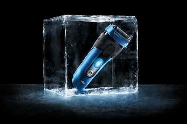 Avanceret barbermaskine der køler din hud