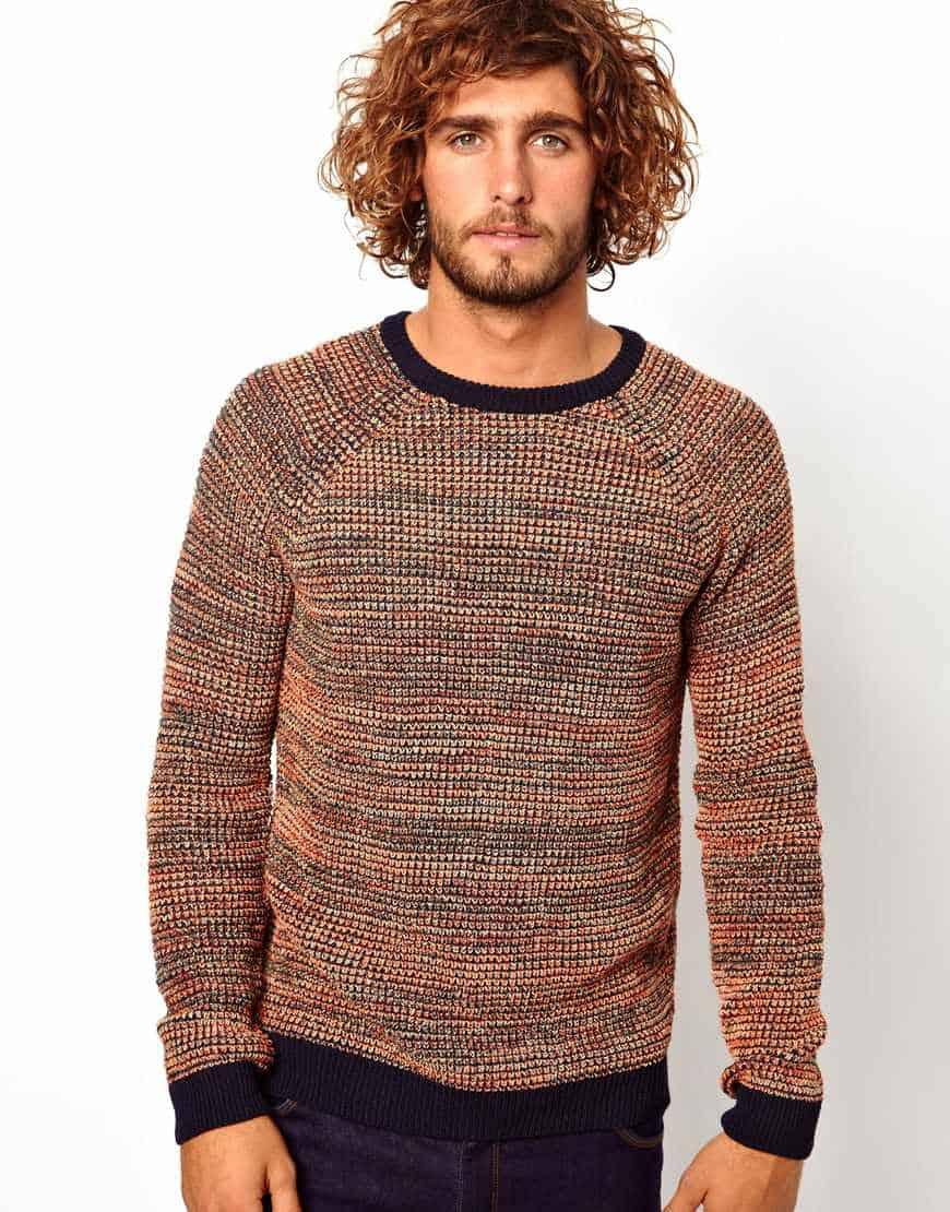 Twisted Yarn Sweater Asos