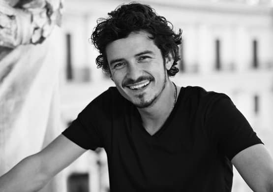 Orlando Bloom Curly Hair Tips