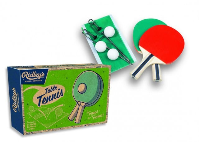 Ridley´s table tennis