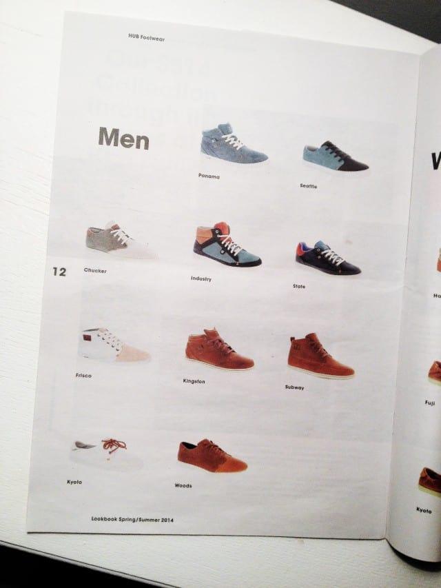 HUB Footwear SS14