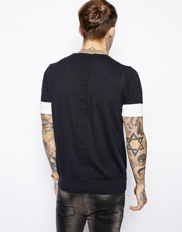 Jumper with Short Sleeves Religion