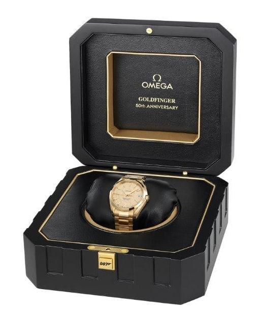 Omega Goldfinger_007_box and watch kopi