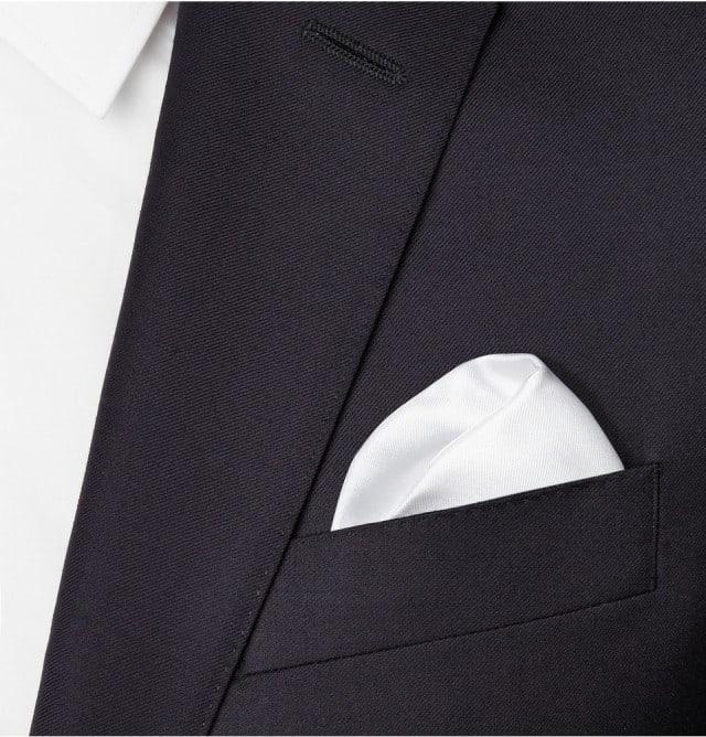 Forny jakkesættet: Lanvin Silk Pocket Square