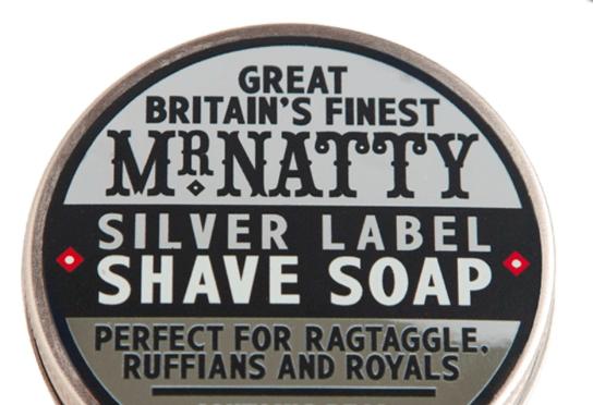 Mr Natty Silver Label Shave Soap, 80 gr. 189 kr. her