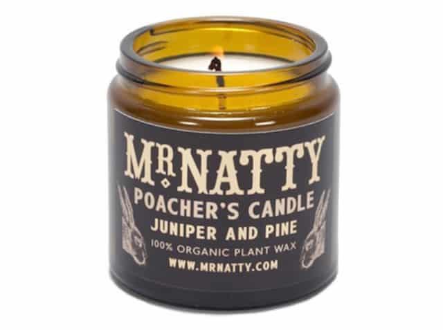 Mr Natty Poacher's Candle. Fordi duftlys ikke kun er for kvinder! 199 kr. her