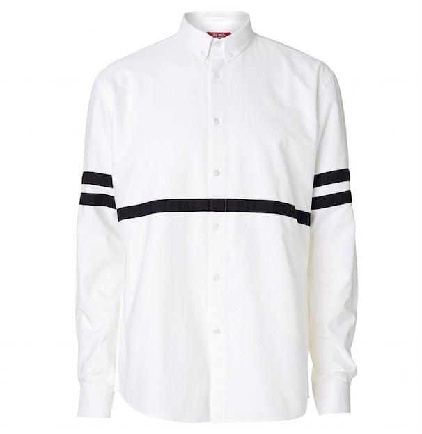 Les deus white shirt