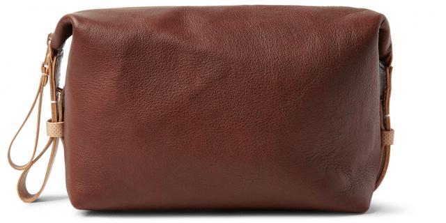 5 toilettasker til mænd - TARNSJO GARVERI Icon Two-Tone Leather Wash Bag