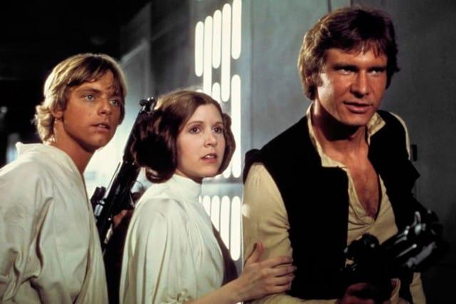Starwars - Luke, Leai og Han Solo