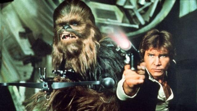 Star wars - Chewbacca og Han Solo