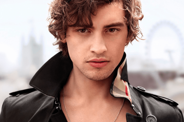 Mr. Burberry model Josh Whitehouse