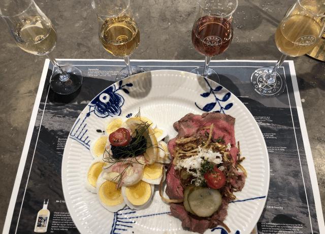 Smørrebrød fra Restaurant Amalie