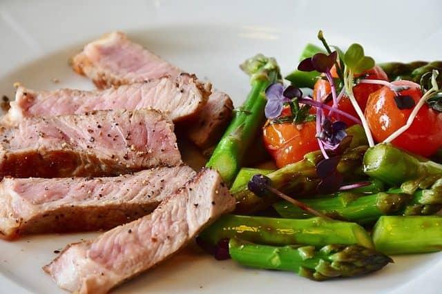 Wolt rabatkode til oksesteak med grøntsager