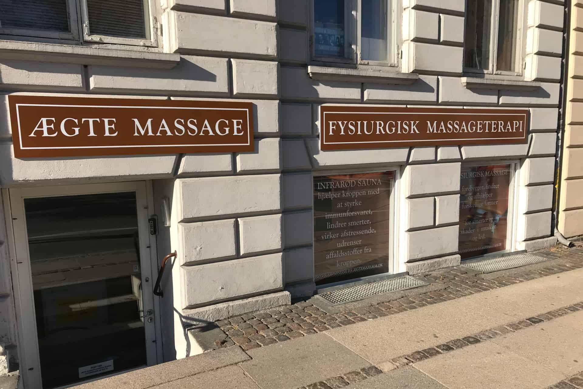 Ægte Massage København