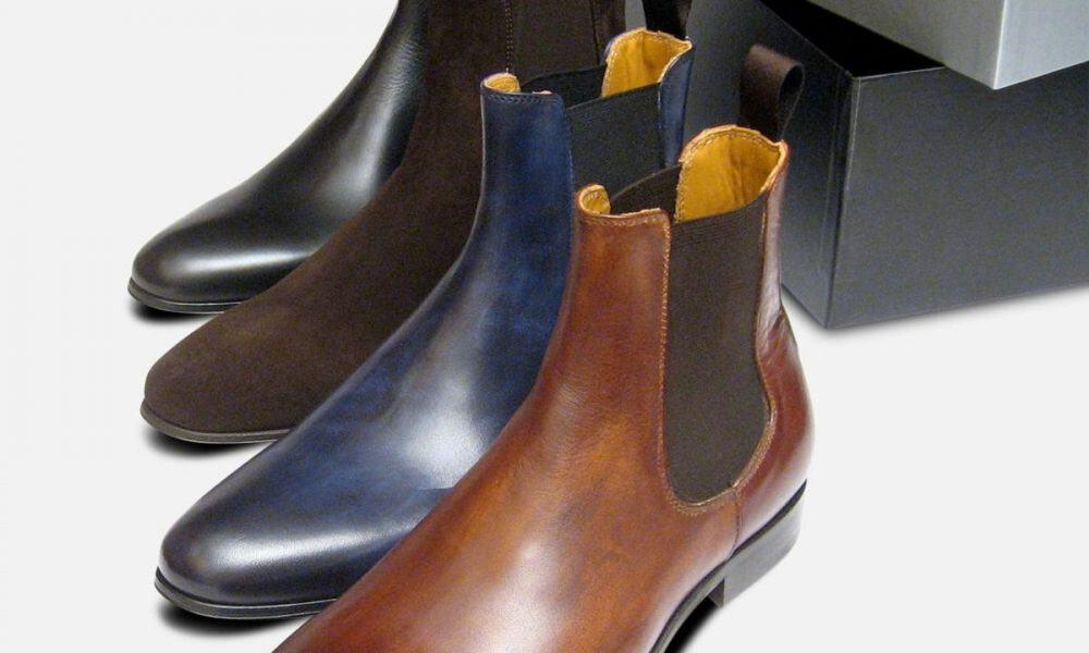 Chealsea boots i forskellige farver