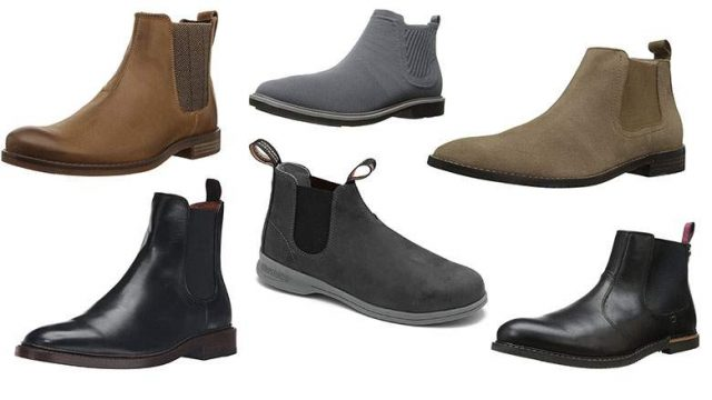 Forskellige Chelsea boots