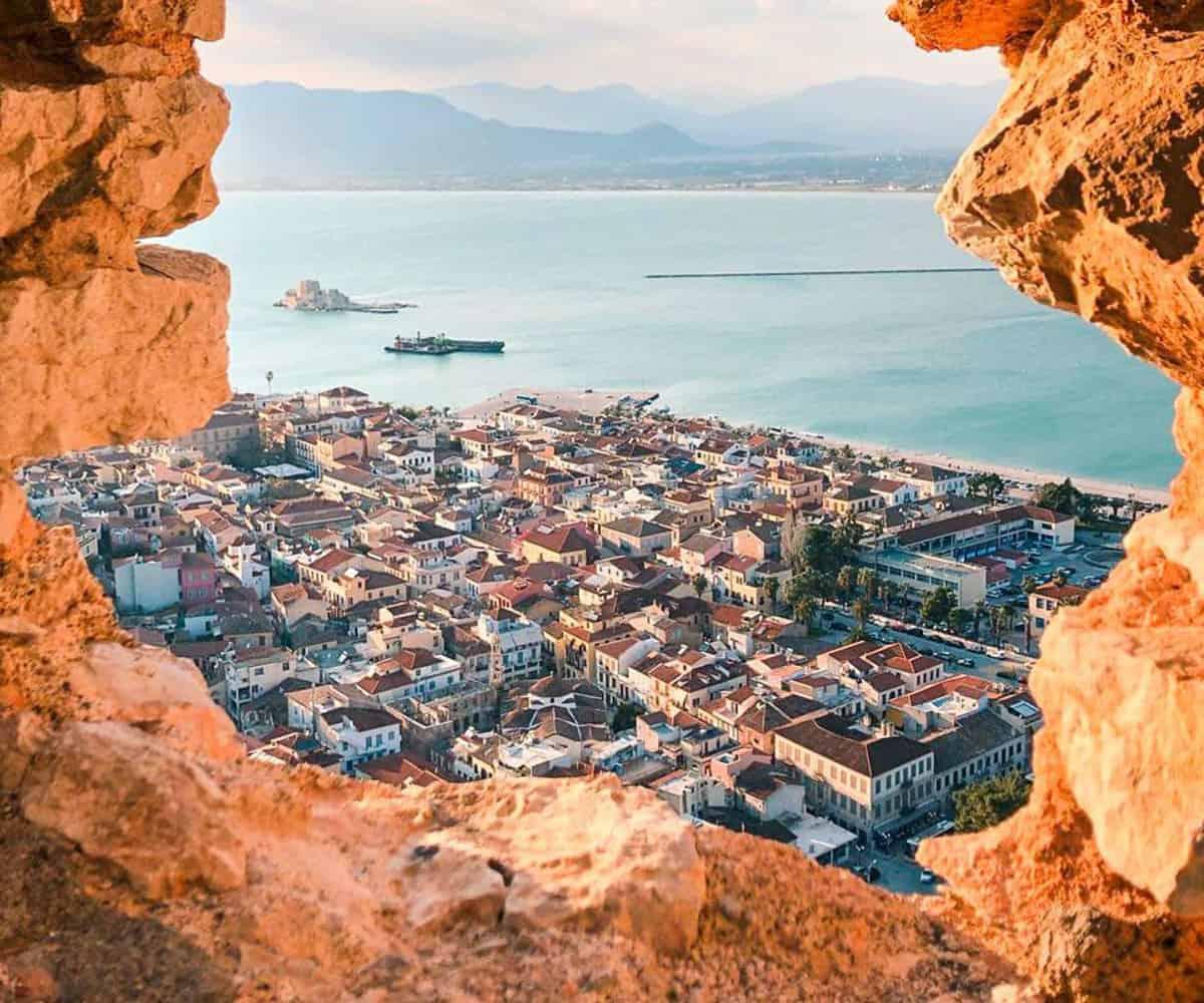 Nafplion i Grækenland